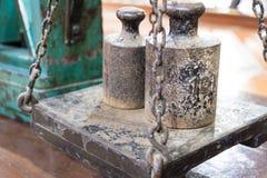 Blumenau, Santa Catarina Vieux équipements de brasserie au musée de bière Photo libre de droits