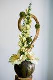Blumenaufbau Lizenzfreie Stockfotografie