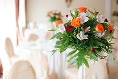 Blumenaufbau Stockfotografie