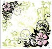 Blumenaufbau lizenzfreie abbildung