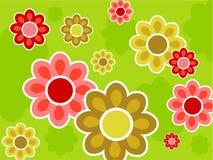 Blumenauslegung Lizenzfreie Stockfotos