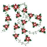 Blumenauslegung Lizenzfreie Stockbilder