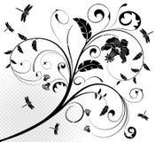 Blumenauslegung Stockbild
