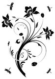 Blumenauslegung Stockfoto