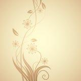 Blumenauslegung Stockfotografie