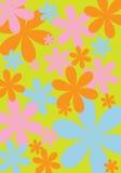 Blumenauslegung 4 lizenzfreies stockbild