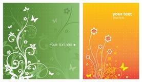 Blumenauslegung-Elemente Lizenzfreies Stockfoto