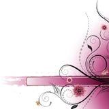 Blumenauslegung-Hintergrund Stockfotos