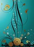 Blumenauslegung-Hintergrund Stockfotografie