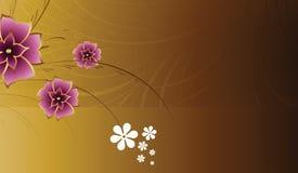 Blumenauslegung-Hintergrund Stockbilder