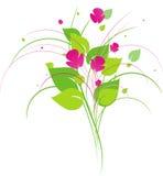 Blumenauslegungelement Lizenzfreie Stockfotos