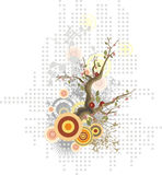 Blumenauslegungserie Lizenzfreie Stockbilder