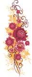 Blumenauslegungserie Lizenzfreies Stockfoto