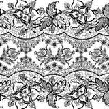 Blumenböhmischer Art-Zigeunerhintergrund stock abbildung