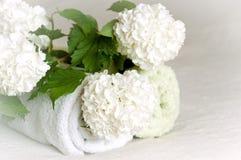Blumenbadekurort Lizenzfreies Stockfoto