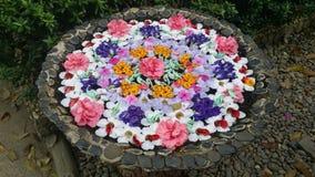 Blumenbecken Stockfoto