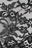 Blumenbeschaffenheit der schwarzen feinen Spitzes Stockbilder