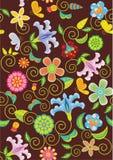 Blumenbeschaffenheitshintergrund Lizenzfreie Stockfotografie
