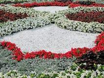 Blumenbetten Stockfotografie