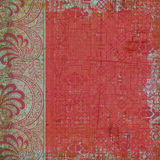 Blumenböhmischer Art-Zigeunerhintergrund Stockfotos