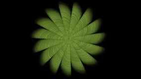 blumenblatt-Blumenmuster 4k Abstratct Blumen, Betriebshintergrund, Fractalgeometrie lizenzfreie abbildung
