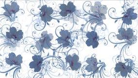 Blumenblatt-Musterhintergrund der Blume 4k stock abbildung