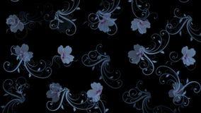 Blumenblatt-Musterhintergrund der Blume 4k vektor abbildung