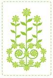 Blumenblattgrün   Vektor Abbildung