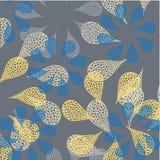 Blumenblatthintergrund stock abbildung