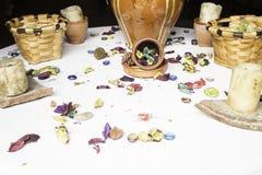 Blumenblumenblätter Lizenzfreie Stockfotos