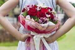 Blumenblumenstrauß. lizenzfreies stockbild