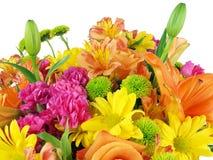 Blumenblumenstraußhintergrund Lizenzfreie Stockfotos