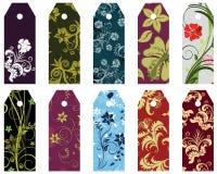 Blumenbookmark Stockbilder