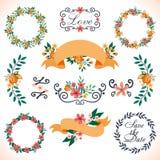 Blumendekoration für die Heirat Lizenzfreie Stockbilder
