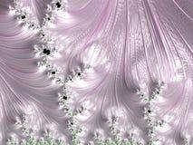 Blumendekoration und Schwimmenfische Lizenzfreie Stockfotografie