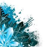 Blumeneckblau Stockfotografie