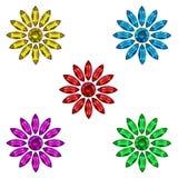 Blumenedelsteine Stockfotos