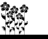 Blumeneinladung Lizenzfreies Stockfoto
