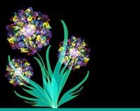 Blumeneinladung Lizenzfreie Stockfotografie