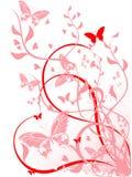 Blumenelement für Auslegung Lizenzfreie Stockbilder