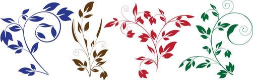 Blumenelemente vektor abbildung