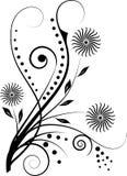 Blumenelemente für Auslegung Lizenzfreie Stockfotografie