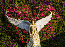 Blumenengel Stockbild