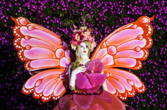 Blumenengel Lizenzfreie Stockfotografie