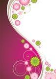Blumenexplosionrosa lizenzfreie abbildung