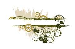 Blumenfahne Lizenzfreie Stockbilder