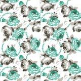 Blumenfarbdesignmuster Stockfoto