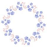 Blumenfeld für Ihre Auslegung Lizenzfreie Stockfotos