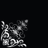 Blumenfliese Stockfotografie