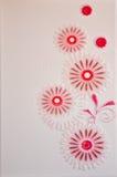 Blumenfliesen Lizenzfreies Stockfoto